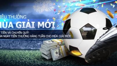 Cá độ bóng đá M88 thưởng lớn mùa giải 2015