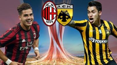 Soi kèo AEK Athens vs AC Milan, 01h00 ngày 03/11, UEFA Europa League