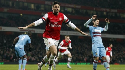 Soi kèo Arsenal vs West Ham United, 02h45 ngày 20/12. Cúp Liên Đoàn Anh