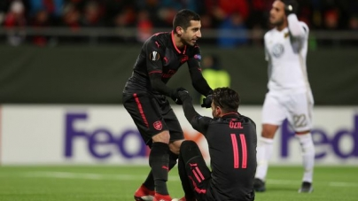 Soi kèo Arsenal vs Ostersunds FK, 03h05 ngày 23/02, Europa League