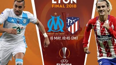 Soi kèo Marseille vs Atletico Madrid, 01h45 ngày 17/05 Europa League