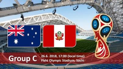 Soi kèo Australia vs Peru, 21h00 ngày 26/06, World Cup 2018