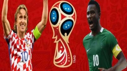 Soi kèo Croatia vs Nigeria, 02h00 ngày 17/06, World Cup 2018