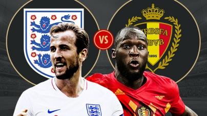 Soi kèo Anh vs Bỉ , 01h00 ngày 29/06, World Cup 2018