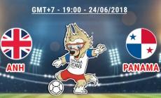 Soi kèo Anh vs Panama, 19h00 ngày 24/06, World Cup 2018
