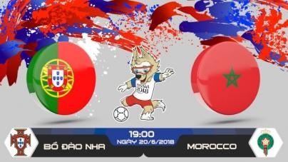Soi kèo Bồ Đào Nha vs Morocco, 19h00 ngày 20/06, World Cup 2018