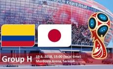 Soi kèo Colombia vs Nhật Bản, 19h00 ngày 18/06, World Cup 2018