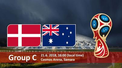 Soi kèo Đan Mạch vs Australia, 19h00 ngày 21/06 World Cup 2018