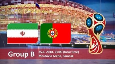 Soi kèo Iran vs Bồ Đào Nha, 01h00 ngày 26/06, World Cup 2018