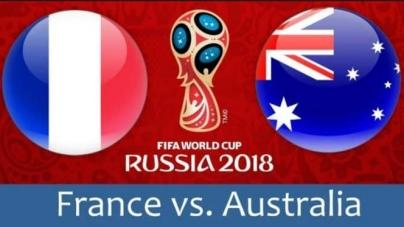 Soi kèo Pháp vs Australia, 17h00 ngày 16/06, World Cup 2018