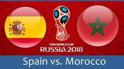 Soi kèo Tây Ban Nha vs Morocco, 01h00 ngày 26/06, World Cup 2018