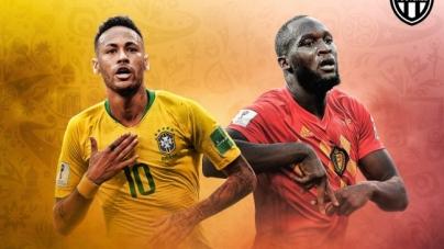 Soi kèo Brazil vs Bỉ – 01h00 ngày 07/07, World Cup 2018