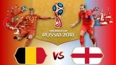 Soi kèo Bỉ vs Anh, 21h00 ngày 14/07, World Cup 2018