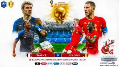 Soi kèo Pháp vs Bỉ, 01h00 ngày 11/07, World Cup 2018