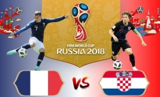 Soi kèo Croatia vs Pháp, 22h00 ngày 15/07, World Cup 2018