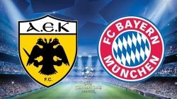 Soi kèo AEK Athens vs Bayern Munich -23h55 ngày 23/10, UEFA Champions League