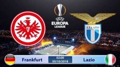 Soi kèo Eintracht Frankfurt vs Lazio , 02h00 ngày 05/10, UEFA Europa League