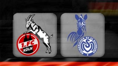 Soi kèo Koln vs Duisburg, 01h30 ngày 09/10, Hạng 2 Đức