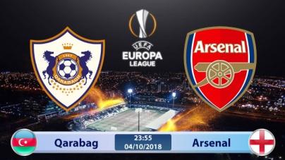 Soi kèo Qarabag vs Arsenal, 23h55 ngày 04/10, UEFA Europa League