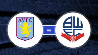 Soi kèo Aston Villa vs Bolton, 02h45 ngày 03/10, Hạng nhất Anh