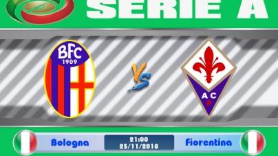 Soi kèo Bologna vs Fiorentina, 21h00 ngày 25/11, VĐQG Italia