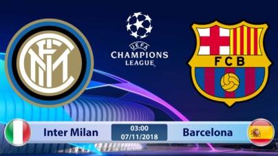 Soi kèo Inter Milan vs Barcelona, 03h00 ngày 07/11, UEFA Champions League