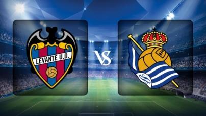 Soi kèo Levante vs Real Sociedad, 03h00 ngày 10/11, VĐQG Tây Ban Nha