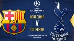 Soi kèo Barcelona vs Tottenham, 03h00 ngày 12/12, UEFA Champions League