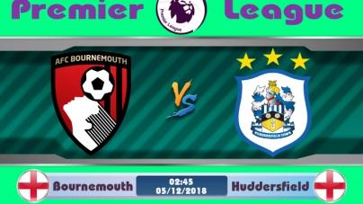 Soi kèo Bournemouth vs Huddersfield, 02h45 ngày 05/12, Ngoại hạng Anh