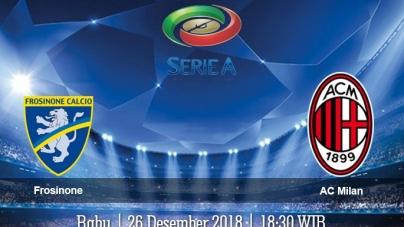 Soi kèo Frosinone vs AC Milan, 18h30 ngày 26/12, VĐQG Italia