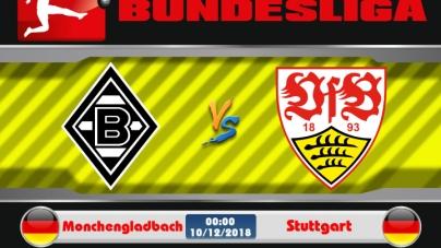 Soi kèo Monchengladbach vs Stuttgart, 00h00 ngày 10/12, VĐQG Đức