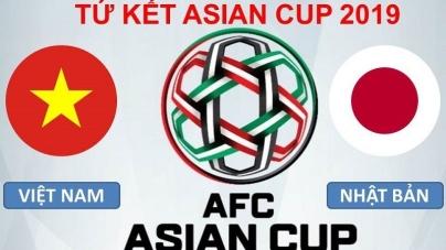 Soi kèo Việt Nam vs Nhật Bản, 20h00 ngày 24/01, Asian Cup 2019