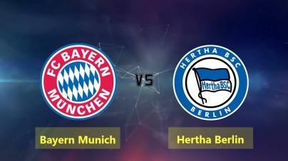 Soi kèo Bayern Munich vs Hertha Berlin, 21h30 ngày 23/02, VĐQG Đức