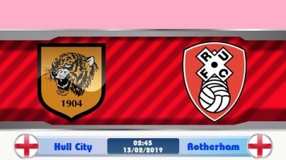 Soi kèo Hull City vs Rotherham, 02h45 ngày 13/02, Hạng nhất Anh