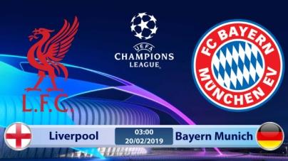 Soi kèo Liverpool vs Bayern Munich, 03h00 ngày 20/02, Champions League