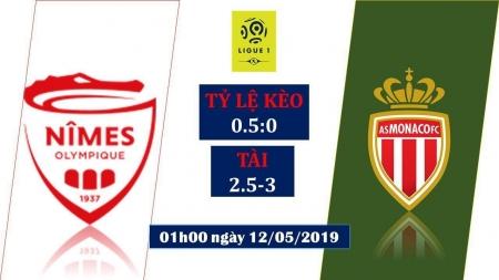 Soi kèo Nimes vs Monaco, 01h00 ngày 12/05, VĐQG Pháp