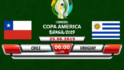 Soi kèo Chile vs Uruguay, 06h00 ngày 25/06, Copa America 2019