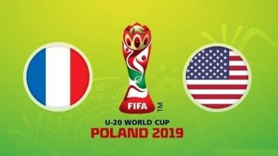 Soi kèo Pháp U20 vs Mỹ U20, 22h30 ngày 04/06, FIFA U20 World Cup 2019