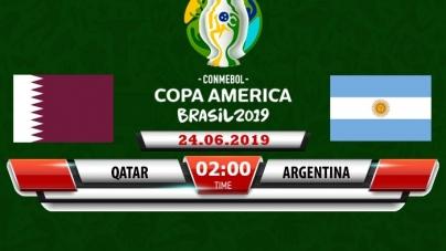 Soi kèo Qatar vs Argentina, 02h00 ngày 24/06, Copa America 2019