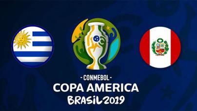 Soi kèo Uruguay vs Peru, 02h00 ngày 30/06, Copa America 2019