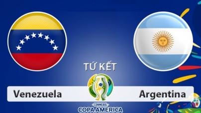 Soi kèo Venezuela vs Argentina, 02h00 ngày 29/06, Copa America 2019