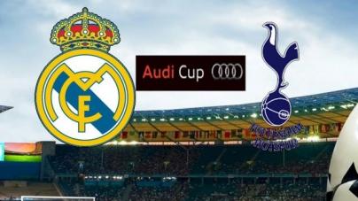 Soi kèo Real Madrid vs Tottenham, 23h00 ngày 30/07, Audi Cup 2019