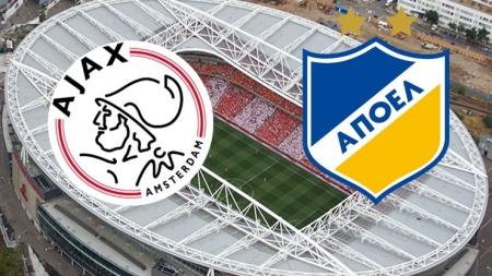 Soi kèo Ajax vs APOEL Nicosia, 02h00 ngày 29/08, Champions League