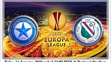 Soi kèo Atromitos Athens vs Legia Warszawa, 23h00 ngày 14/08, Europa League