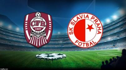 Soi kèo CFR Cluj vs Slavia Praha, 02h00 ngày 21/08, Champions League