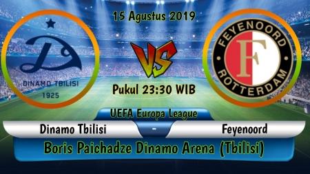 Soi kèo Dinamo Tbilisi vs Feyenoord, 23h30 ngày 15/08, Europa League