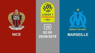 Soi kèo Nice vs Marseille, 02h00 ngày 29/08, VĐQG Pháp