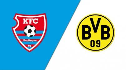 Soi kèo Uerdingen vs Dortmund, 01h45 ngày 10/08, Cúp QG Đức