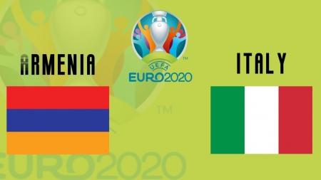 Soi kèo Armenia vs Italia, 23h00 ngày 05/09, Vòng loại Euro 2020