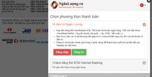 Hướng dẫn gửi tiền vào M88 bằng ví điện tử ngân lượng